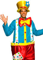 Adult Clown Male Costume [4007164]