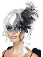Adult Masquerade Dark Angel Eyemask