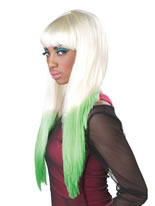 Nicki Minaj Colour Dipped Wig [70067]