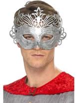 Columbine Silver Mask [40005]