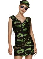 Combat Army Girl Costume
