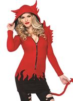 Adult Cozy Devil Costume