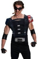 Comedian Watchmen Muscle Chest Costume [889032]