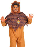 Cowardly Lion Costume from Wizard of Oz