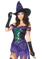 Adult Crafty Cutie Witch Costume