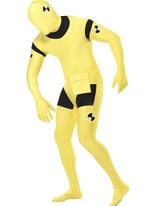 Adult Crash Dummy Skin Suit Costume