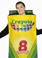 Adult Crayola Crayons Box of 8 Costume [4004520]