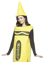 Adult Ladies Yellow Crayola Crayons Costume [4450002]