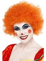 Crazy Clown Wig Orange [42085]