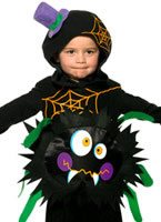 Child Crazy Spider Costume