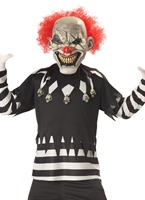Creepy Clown Childrens Costume [00299]