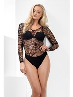 Crochet Spider Web Bodysuit [44790]