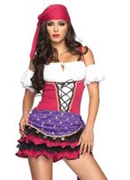Crystal Ball Gypsy Costume [83671]