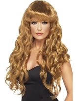 Curly Siren Wig Brown [42261]