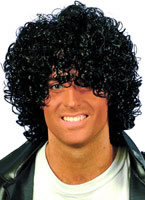 Adult Wet Look Afro Wig [42032]