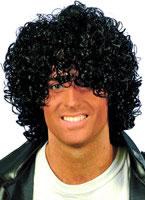 Adult Wet Look Afro Wig