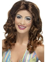 Dancing Queen Wig Brown [42456]