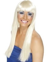 Dancing Queen Wig Blonde [42098]
