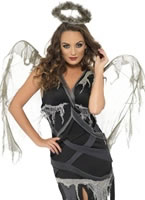 Adult Dark Fallen Angel Costume