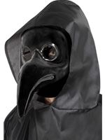 Dark Plague Doctor Mask