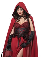 Adult Dark Red Riding Hood Costume [01185]