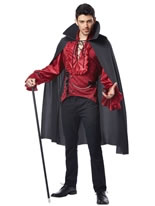 Adult Dashing Vampire Costume
