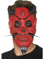 Day of the Dead Devil Mask