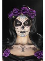 Day of the Dead Face Tattoos Transfer Kit [41569]
