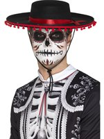 Day of the Dead Senor Hat [48173]