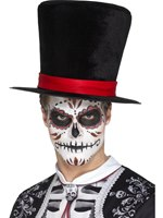 Day of the Dead Top Hat [48172]