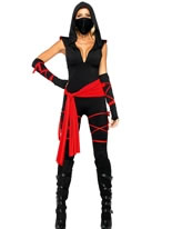 Adult Deadly Ninja Costume [85087]