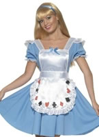 Adult Deck of Cards Alice Girl Costume