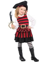 Little Lass Childrens Pirate Costume