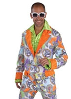 Deluxe 60's 70's Cool Suit Costume