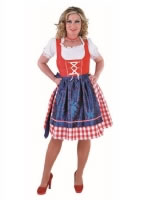 Deluxe Bavarian Girl Costume