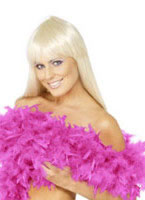 Deluxe Boa Shocking Pink Feather [38308]