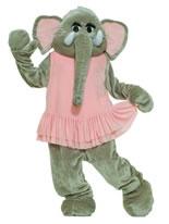 Adult Deluxe Dancing Elephant Mascot Costume [61672]