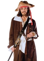 Deluxe Captain Jack Costume
