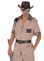Adult Deluxe Crocodile Hunter Costume