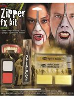 Deluxe Vampire Zipper FX Make Up Kit