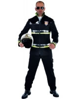 Adult Deluxe Firefighter Costume