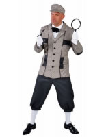 Adult Deluxe Sherlock Holmes Costume