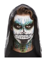 Deluxe GID Skeleton Make-Up Kit [68028]