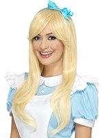 Deluxe Heat Resistant Blonde Alice Wig
