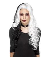 Deluxe Heat Resistant Evil Madame Wig [45041]