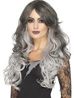 Deluxe Heat Resistant Gothic Bride Wig [45040]