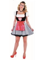 Adult Deluxe Heidi Bavarian Girl Costume
