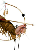 Deluxe Indian Bow and Arrow Set