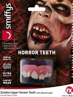 Deluxe Individual Zombie Horror Teeth