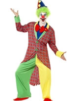 Adult Deluxe La Circus Clown Costume
